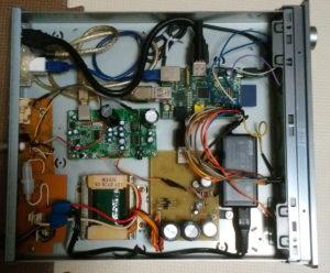 作りかけのRaspberryPiとLux-ot2のインターネットチューナー
