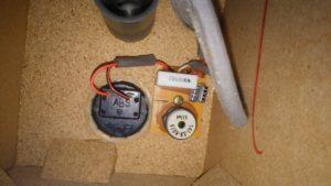 Panasonic SB-HD75 2Way スピーカーの改造したネットワークの取り付け