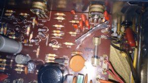 AUREX SB-220 ラインノイズ対策