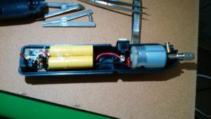 充電回路を追加したルーター