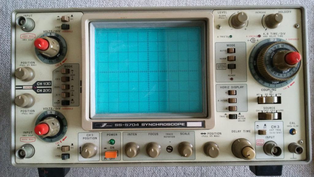岩通 IWATSU SS-5704 シンクロスコープ 修理