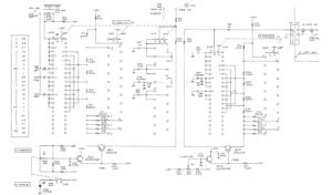 IWATSU SS-5711C 故障部分の回路図抜粋