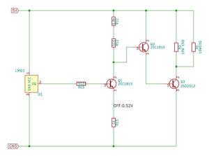 OCXO用 52℃ Simple Ovenの回路図