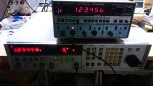 NF DF-194A 周波数を合わせ込みました。