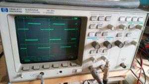修理完了 HP 54600A