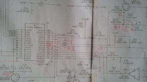 HP 54600A UB1202AM周り回路図