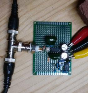 H5460xxには自己校正の為の自作パルスジェネレータ