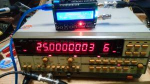SI5351 Frequency generator 1.5k...200MHz