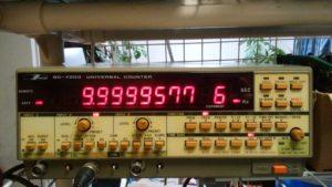 SC-7204相当にアップグレードしたIWATSU SC-7203 UNIVERSAL COUNTER