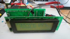 arduino 24MHZ(25MHz)動作確認用に周波数測定