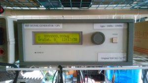 GPS周波数標準器 (SATELLITE CONTROLLED FREQUENCY STANDARD)作成
