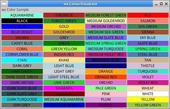 wx.ColourDatabase