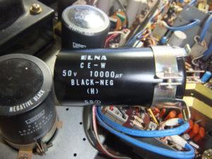 SB-420の電解コンデンサーを交換
