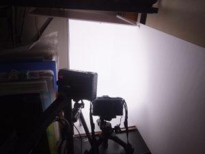 小物専用の常設撮影スペース