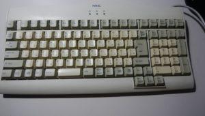 清掃でキレイになったキーボード