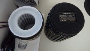 Big-fun 空気清浄機 車載空気清浄機 空気清浄器 フィルター部分
